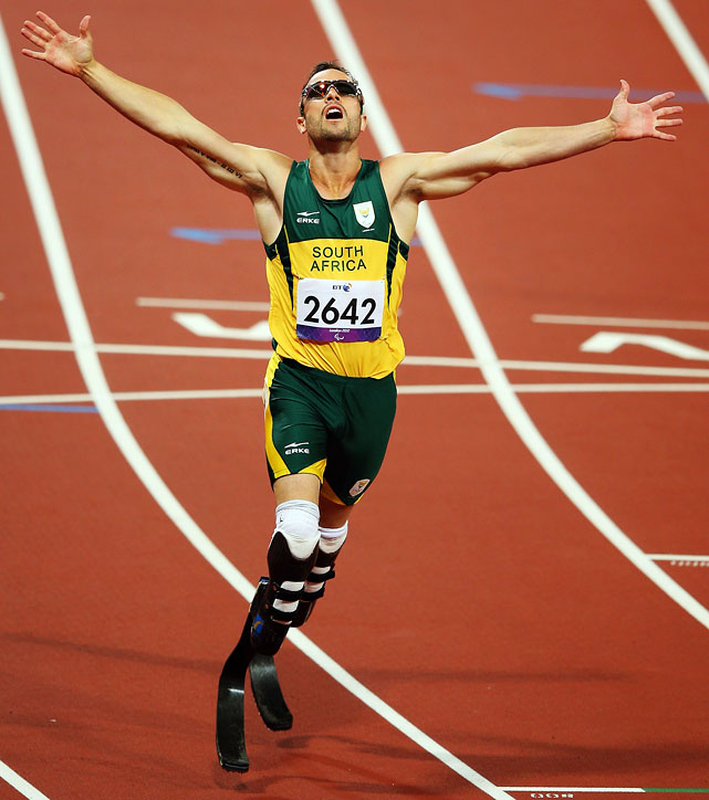 Although he did not win an Olympic medal, South African amputee Oscar Pistorius delivered an inspirational performance in London. Pistorius reached the semifinal of the 400 meters and the final of the 4 x 400 relay. Then, a few weeks later, he won three medals in the Paralympics, two of them gold.