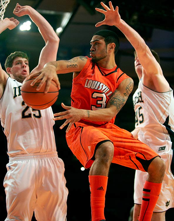 After struggling for much of the 2011-12 season, Lousiville point guard Peyton Siva emerged as a star during the 2012 Big East Tournament. Siva averaged 13.8 ppints, 6.3 rebounds and 5.8 assists in the conference tournament, as Louisville won the competition and Siva was named the MVP.
