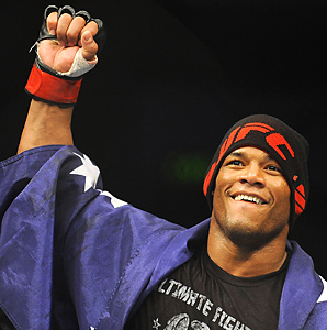 Cuban Hector Lombard won in the first round on Friday.