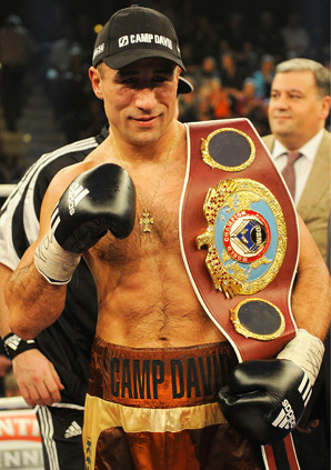 Arthur Abraham scored the 28th knockout of his career and held on to his WBO belt.
