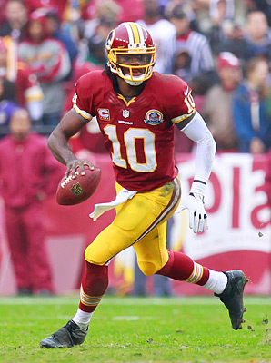 If Robert Griffin sees the field for the Redskins, he's a must-start in fantasy.