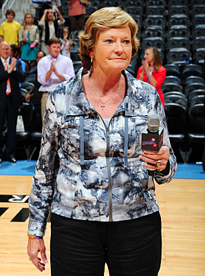 Pat Summitt's son, Tyler, is an assistant coach with the Marquette women's team.