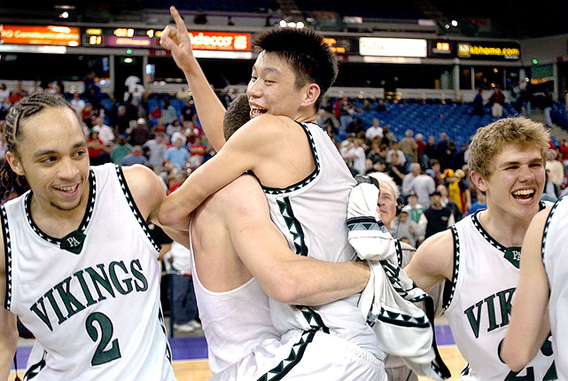 Lin led Palo Alto High School to a Division II state title as a senior, averaging 15.1 points, 7.1 assists and 5 steals for the 32-1 Vikings.