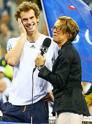 Andy Murray won his first major at the 2012 U.S. Open, a Monday men's final.