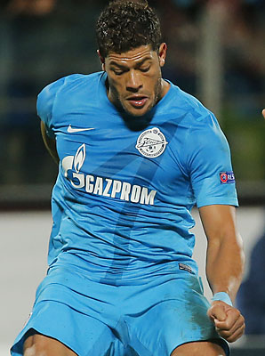 Hulk and Zenit St. Petersburg were eliminated in the Champions League group stage.