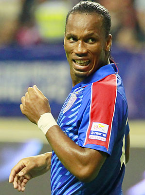 Didier Drogba was a finalist for the African Player of the Year award.