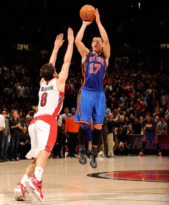 February 14 looked like it was going to be the day that 'Linsanity' was going to die down. Instead, Jeremy Lin took the phenomenon to a new level, scoring 27 points and nailing the game-winning three-pointer in the final seconds to give the Knicks their sixth consecutive win.