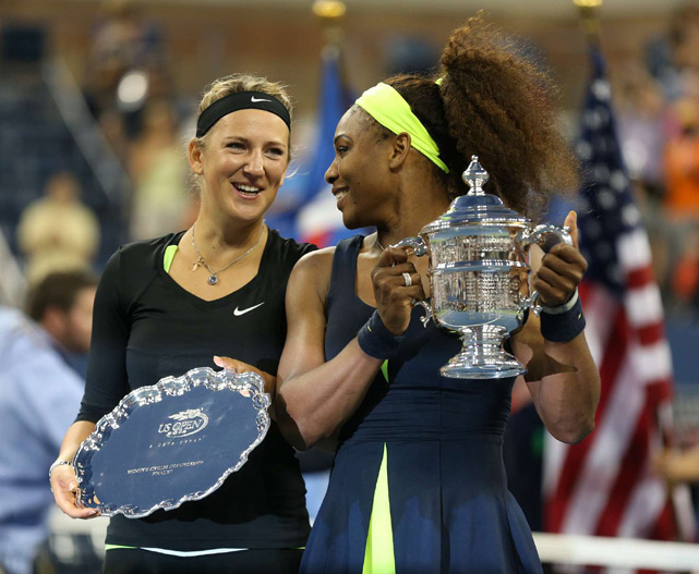 At one point, Victoria Azarenka was one ace away from winning the U.S. Open. But Serena Williams refused to give up, coming back to win the third set, 7-5, and earn her 15th Grand Slam singles crown.