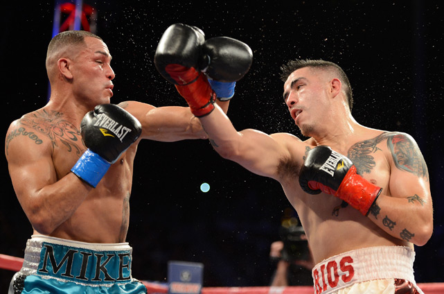 Brandon Rios and Mike Alvarado had an epic super lightweight showdown in October. Rios won the non-stop fight, one of the best bouts in years.