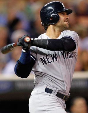 Nick Swisher is a free agent after spending the past four seasons with the Yankees.