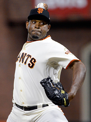 Santiago Casilla went 7-6 with a 2.84 ERA and 25 saves in 73 appearances last season.