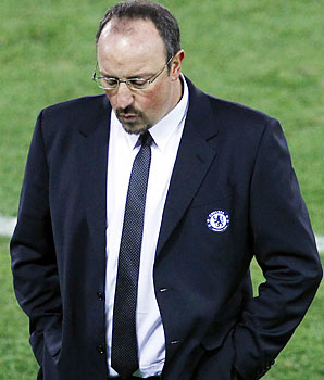 Rafa Benitez and Chelsea play their League Cup quarterfinal a week late because of their Club World Cup involvement.