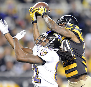 The Steelers have lost both games played without Ike Taylor.
