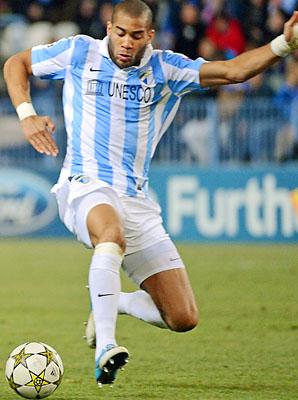 Oguchi Onyewu and Malaga are in fourth place in La Liga.