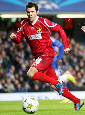 Michael Parkhurst and FC Nordsjaelland were eliminated in the Champions League group stage.