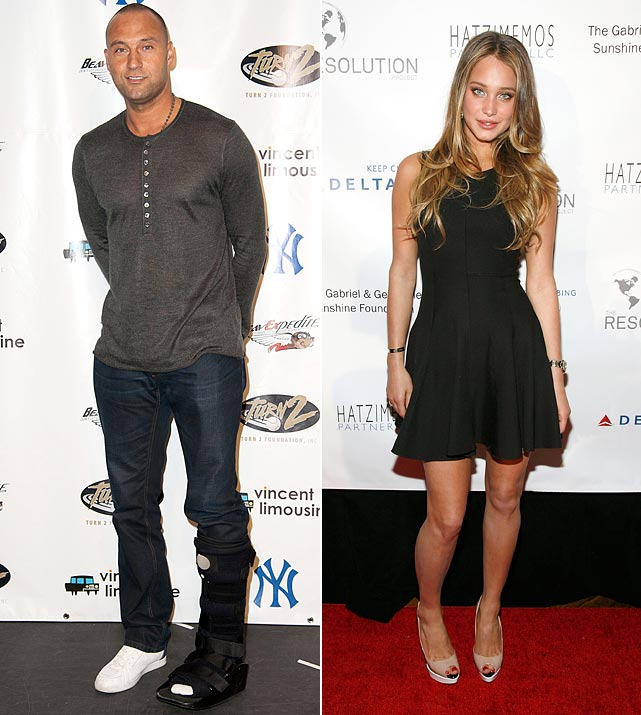 "The ""New York Post"" reported in July that the Yankees shortstop was dating the model. The tabloid recently reported that Jeter and Davis are still seeing each other."