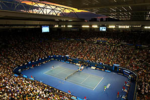 The Australian Open begins on Jan. 14 in Melbourne.