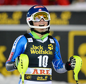 Mikaela Shiffrin, 17, is the second youngest American woman to win a World Cup race.