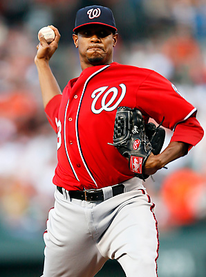Edwin Jackson was 10-11 with a 4.03 ERA with the Nationals last season.