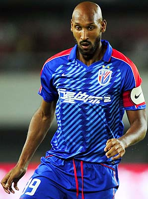 Nicolas Anelka left Chelsea for Shanghai this year.
