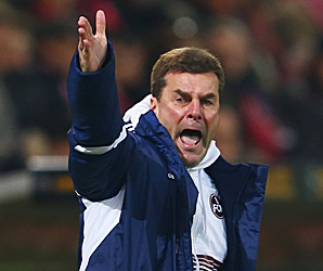 Dieter Hecking takes over from Lorenz-Guenther Koestner who stepped down on Thursday.