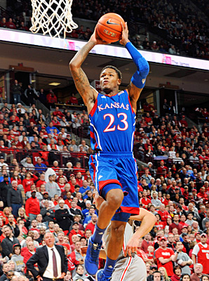 Ben McLemore paced the Jayhawks with a game-high 22 points against Ohio State.