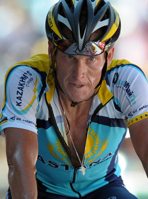 Lance Armstrong was stripped of his seven Tour de France titles and banned from cycling for life earlier this year.