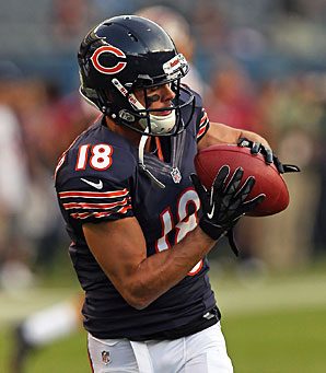 The Bengals have acquired receiver Dane Sanzenbacher on waivers from the Bears.