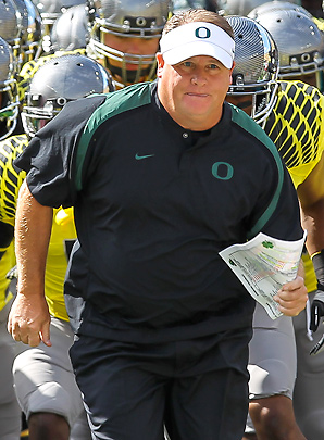 Chip Kelly has developed a reputation for his offensive wizardry in leading Oregon to a 45-7 record over the last four seasons.