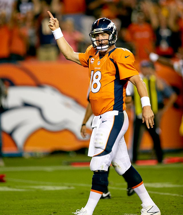 Peyton Manning showed in 2012 why he should not be doubted. Despite being released by the Colts after undergoing neck surgery, Manning quickly found his footing in Denver and led the Broncos to the No. 1 seed in the AFC playoffs. (Who would you add to the list? Send comments to siwriters@simail.com)