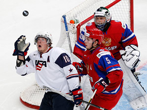 J.T. Miller and company had trouble cracking Russia's defense as a win eluded the U.S. in the final minutes.