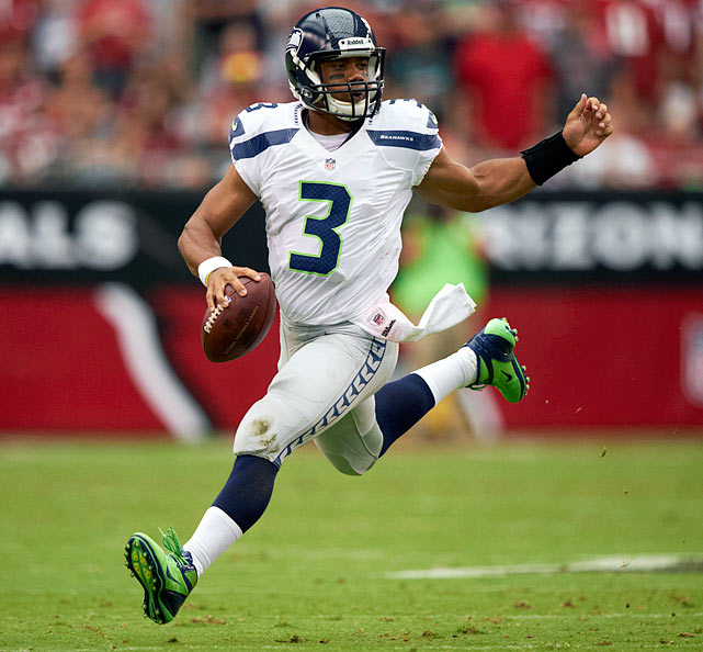 Let rookie quarterback Russell Wilson continue to be a multiple-threat playmaker.