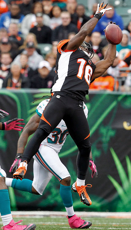 Another wide receiver must emerge to take some of the pressure off of A.J. Green.