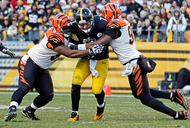 The defense, led by DT Geno Atkins, needs to continue to be relentless and pressure the quarterback.