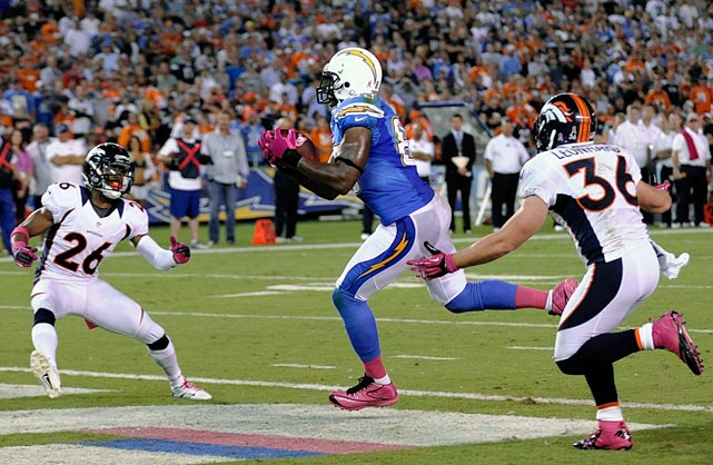 Defend the tight end. San Diego's Antonio Gates and Baltimore's Dennis Pitta were among opposing tight ends who had big games against the Broncos.