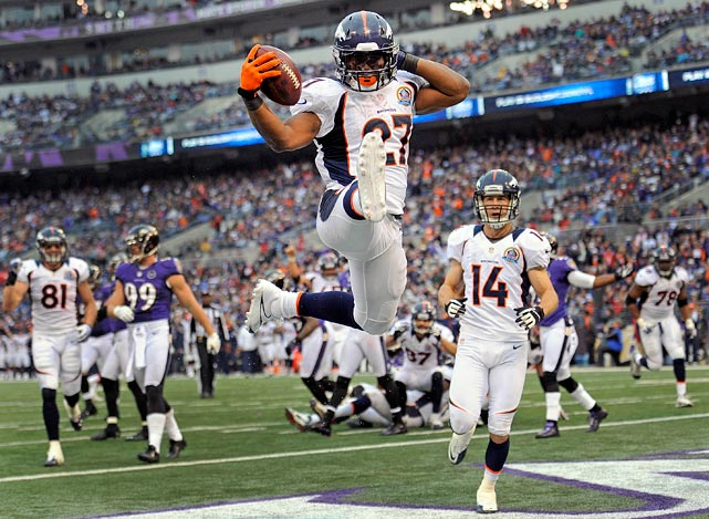 Know that Knowshon Moreno can be a big contributor as both a runner and a receiver.