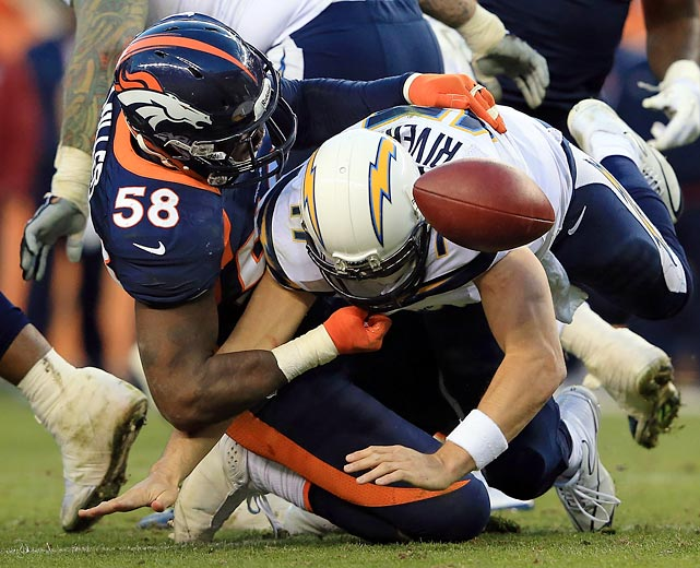 Outside linebacker Von Miller needs to continue to create havoc.