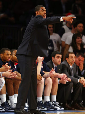 Kevin Ollie has led UConn to a 9-2 record this season, replacing retired Hall of Fame coach Jim Calhoun.