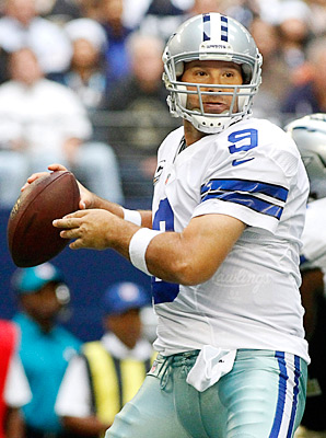Tony Romo and the Cowboys still have playoffs hopes to play for against the Redskins.