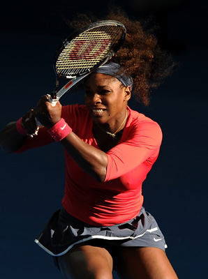 Serena Williams needed less than an hour to beat fellow American Varvara Lepchenko.