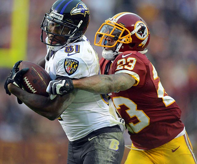 Cornerback DeAngelo Hall needs to refrain from making too many gambles in coverage.