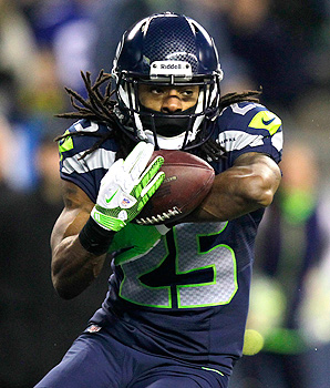 Seattle Seahawks' cornerback Richard Sherman wasn't drafted until the fifth round in the 2011 NFL draft,