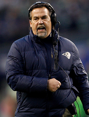 Jeff Fisher led the Rams to an impressive 4-1-1 record in the NFC West in 2012.