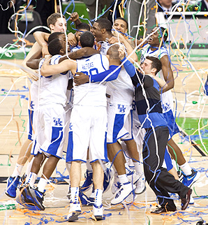 As Kentucky won the NCAA basketball tournament in 2012, many raked in cash prizes for winning tournament betting pools.
