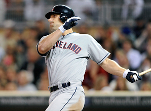 The Indians reclaimed Russ Canzler on waivers from Toronto on Wednesday after designating him for assignment Dec. 18.