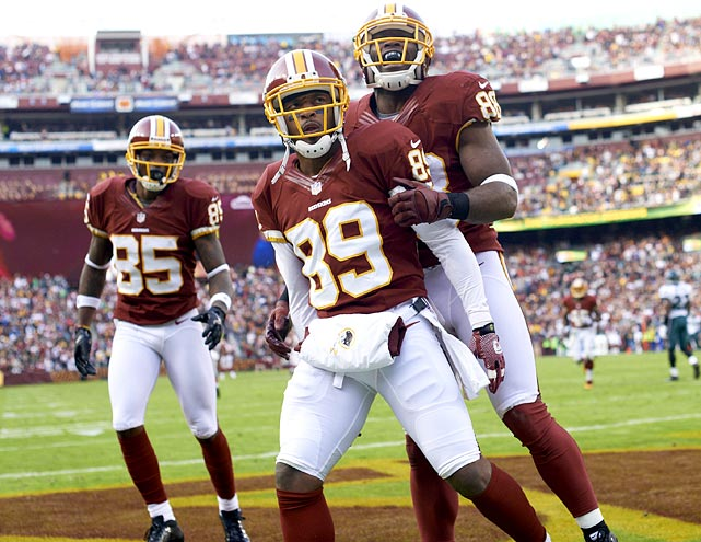 Most know Moss as a household name and the Redskins' longest-tenured receiver, but the veteran has assumed a far different role this year ? and he has become significantly more dangerous as a result. Pushed down the depth chart in favor of Pierre Garcon, Leonard Hankerson and Josh Morgan, Moss emerged as an infrequent and unexpected threat. Operating primarily out of the slot and sometimes out wide, Moss finished with more touchdowns this season (eight) since 2005, despite a dramatic drop in targets. With Robert Griffin III still hobbled by a balky knee, Moss may see his activity go up and could be a notable presence for the Redskins.