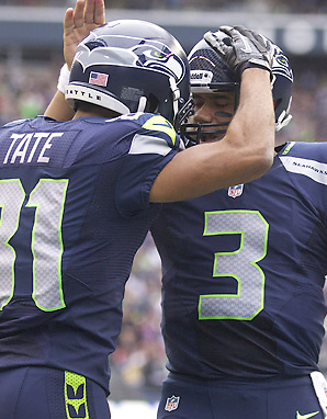 With maturity and poise beyond his years, Russell Wilson quickly won over his Seahawks teammates.