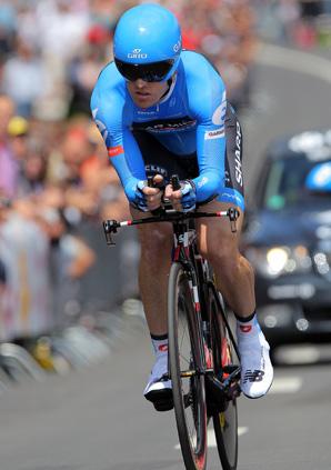 Tyler Farrar rode for Garmin-Sharp in the Tour de France.