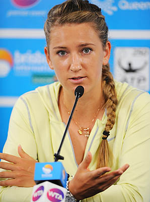 Victoria Azarenka hopes to defend her title at the Australian Open beginning Jan. 14.