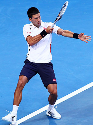 Novak Djokovic will begin defense of his Australian Open title in two weeks.
